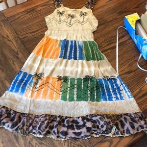 NWT India summer boho dress